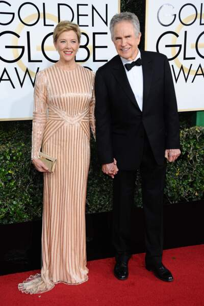 Golden Globes 2017 : Annette Bening et Warren Beatty