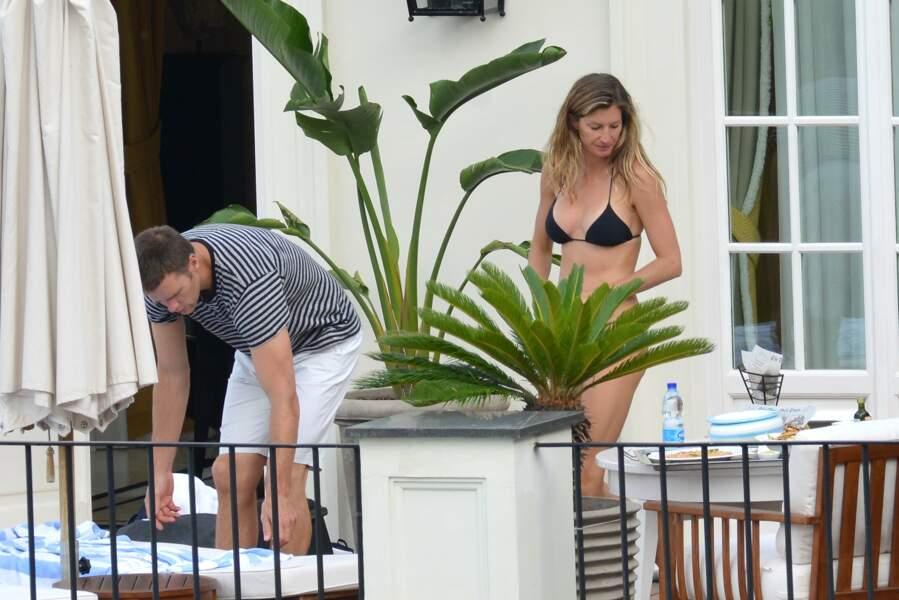 Gisele Bünchen et son mari Tom Brady : et les frites servies par l'une des plus belles femmes du monde