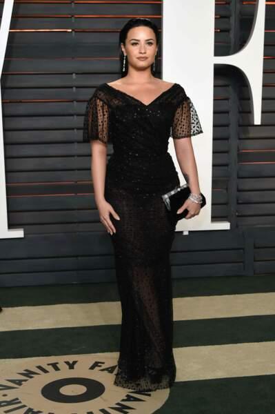 Victoria's Secret : Demi Lovato a été sacrée chanteuse la plus séduisante