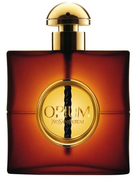 Opium d'Yves Saint Laurent : prix du parfum mythique féminin