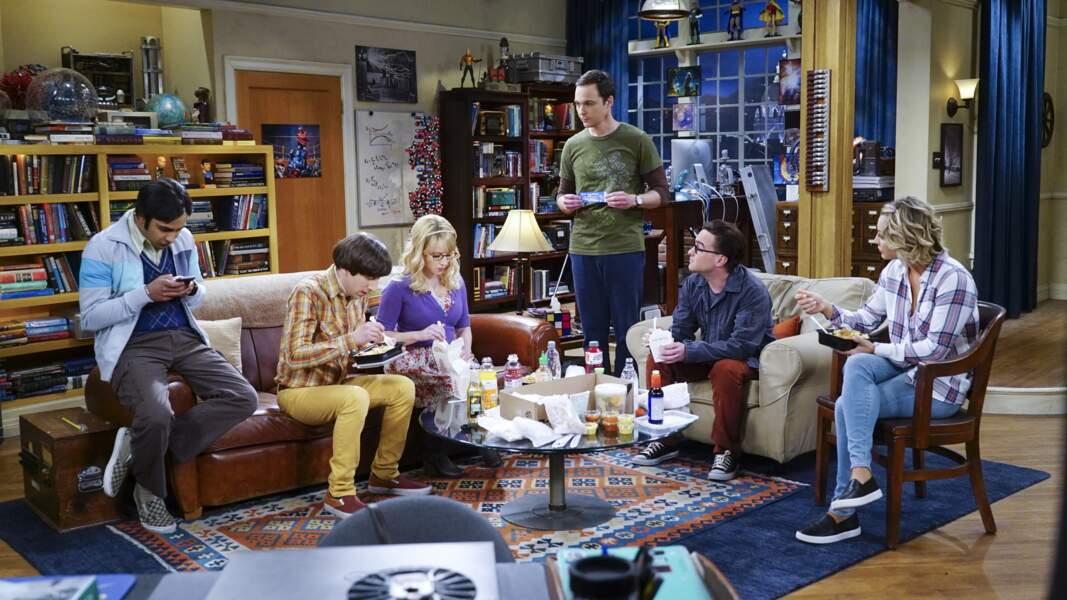 Les acteurs de The Big Bang Theory dans la série, ça donne ça