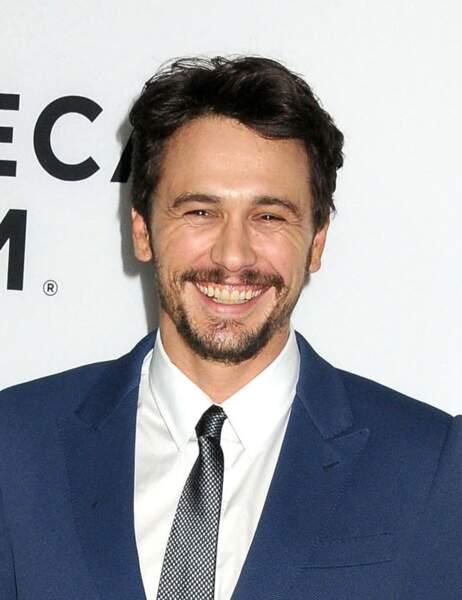 James Franco qui sourit, et c'est sexy.