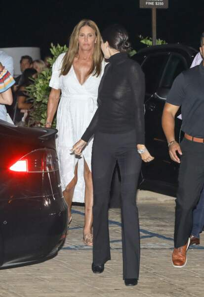 Kendall et Caitlyn Jenner se rendent au restaurant, Los Angeles