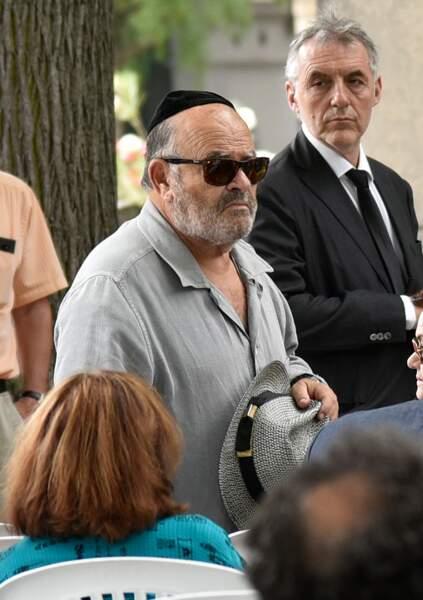 Obsèques de Claude Lanzmann au cimetière du Montparnasse : Jean Benguigui