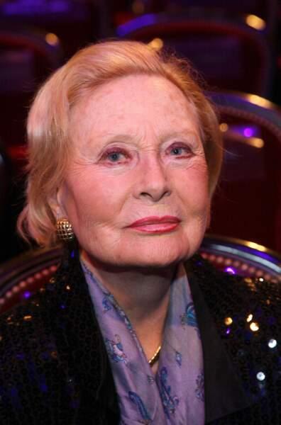 Michèle Morgan s'est éteinte le 20 décembre à l'âge 96 ans