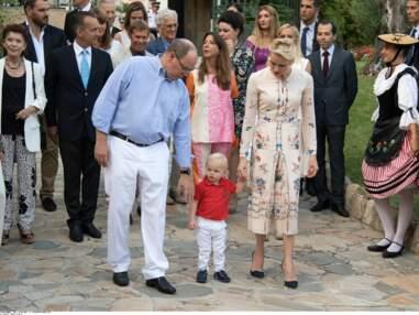 Le prince Jacques émerveillé au pique-nique traditionnel des Monégasques