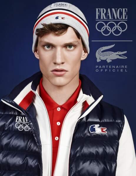 Lacoste est partenaire du Comité National Olympique et Sportif Français pour Sochi 2014