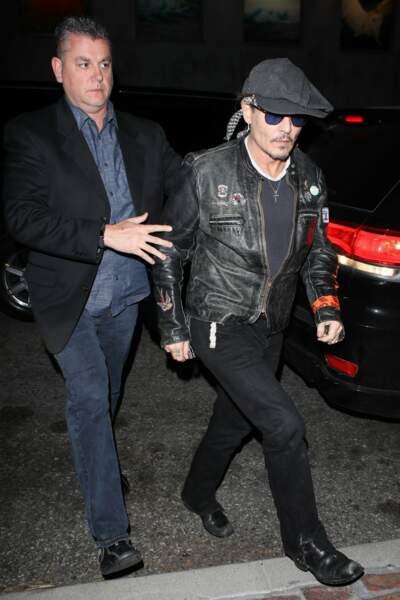 Johnny Depp très amaigri, les photos qui inquiètent