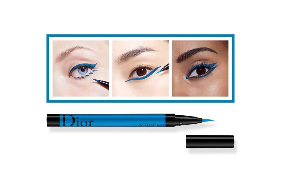 Liner feutre Diorshow couleur pop blue, Dior, 34,50 euros