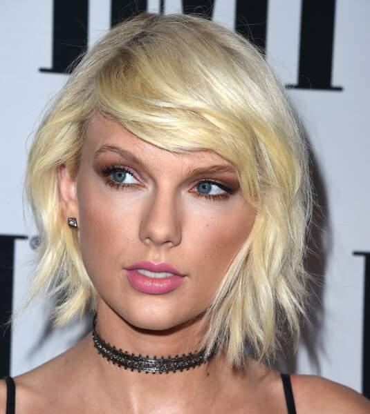 Le carré déstructuré de Taylor Swift