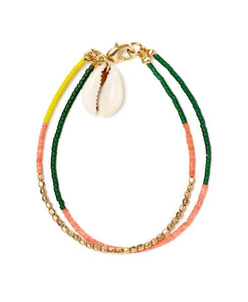 Bracelet coquillage, Polder, 36,60€ au lieu de 61€