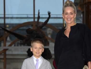 Sharon Stone et son fils, Adèle Exarchopoulos et son compagnon à la soirée Fendi