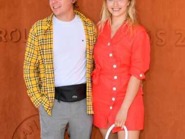 Chloé Jouannet folle amoureuse de son chéri Zacharie Chasseriaud à Roland-Garros