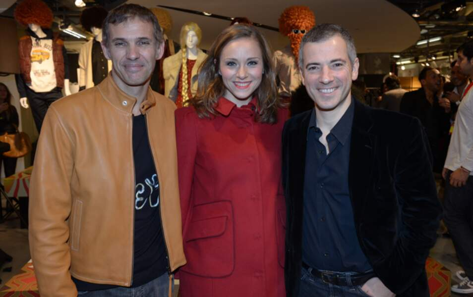 Paul Belmondo, Delphine Depardieu et Bruno Putzulu