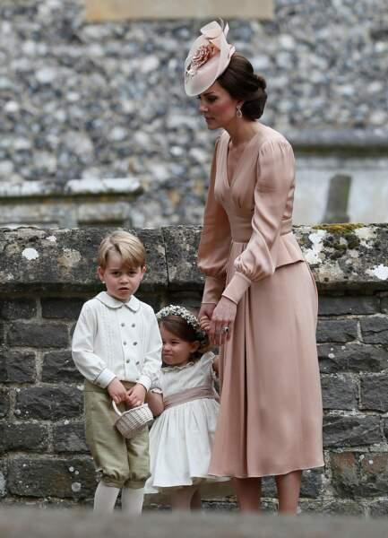 Kate Middleton et ses deux enfants