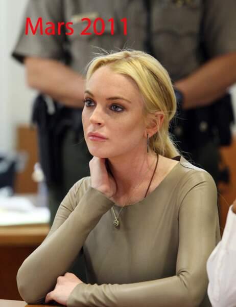 Lindsay Lohan mars 2011