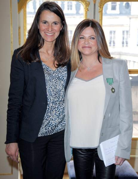 Charlotte Valandrey et Aurélie Filippetti
