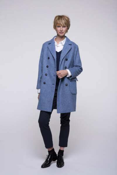 Manteau en alpaga Trench and Coat, 249€