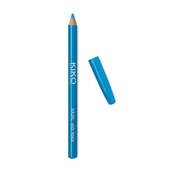 Crayon khôl coloré pour l'intérieur des paupières turquoise, Kiko, 2,25€