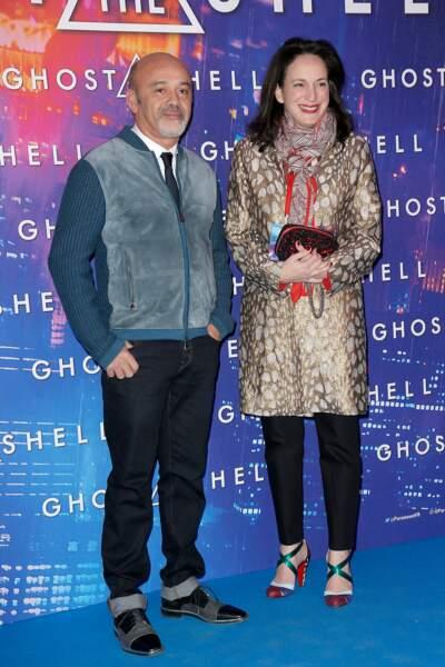 Avant-première de Ghost in the Shell : Christian Louboutin
