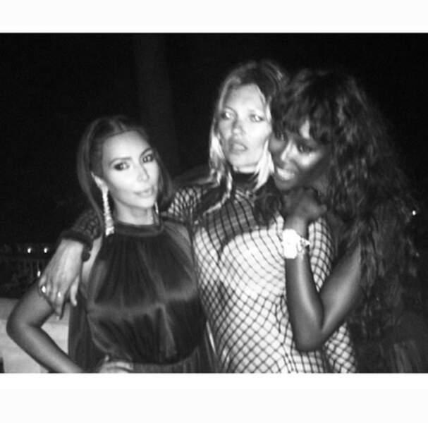 Kim, Kate et Naomi
