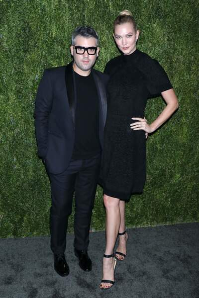 Karlie Kloss et Brandon Maxwell