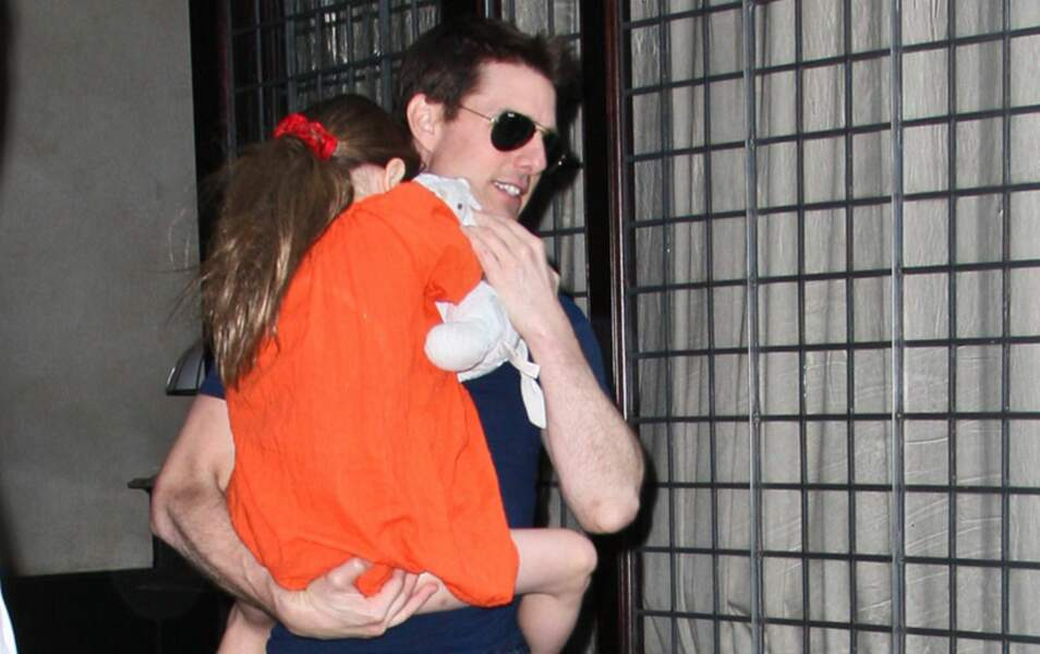 Tom Cruise et Suri