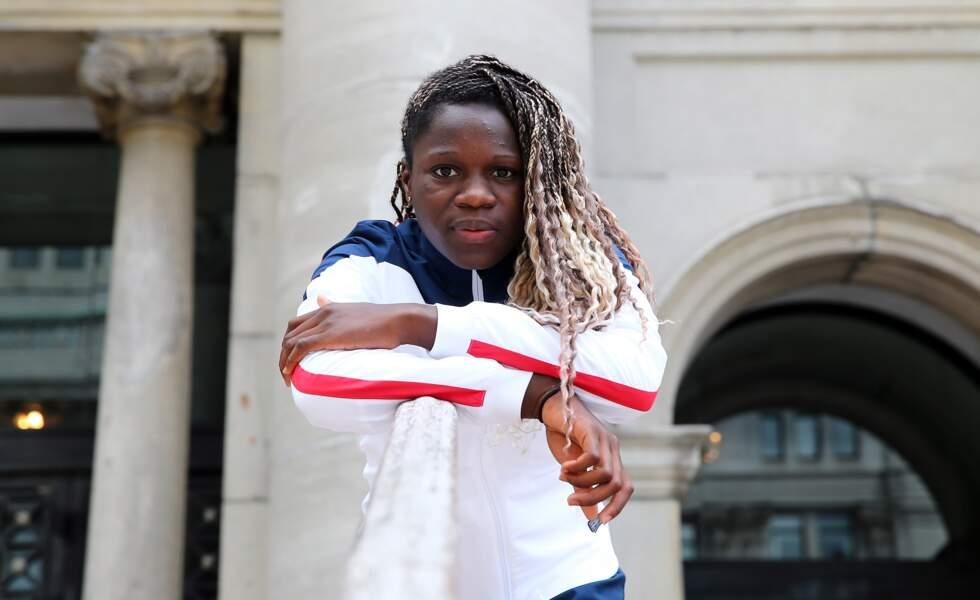 Griedge Mbock Bathy, 24 ans, défenseuse