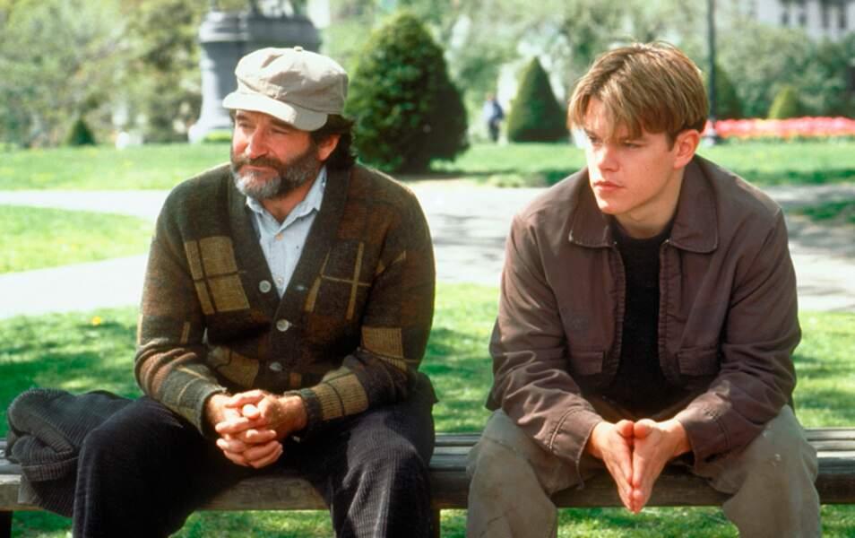 Un rôle de mentor face à Matt Damon dans Will Hunting en 1997