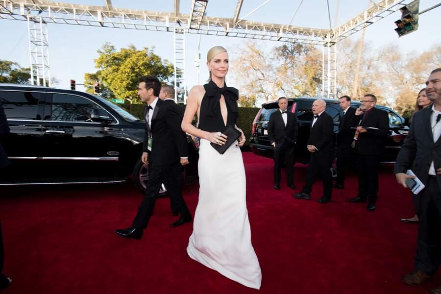 76ème cérémonie des Golden Globes : Charlize Theron