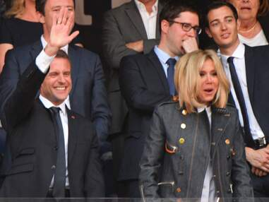 Emmanuel et Brigitte Macron au Stade de France pour la finale de la Coupe de France