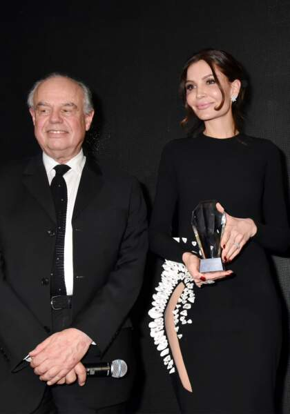 40ème Best Awards : Frédéric Mitterrand et Lola Karimova-Tillyaeva