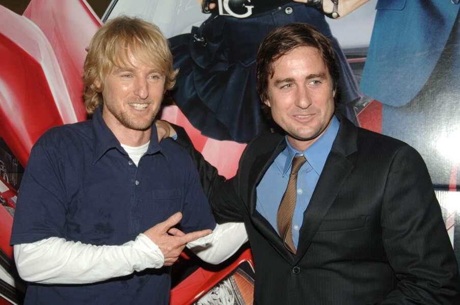 Owen et Luke Wilson : beaux gosses