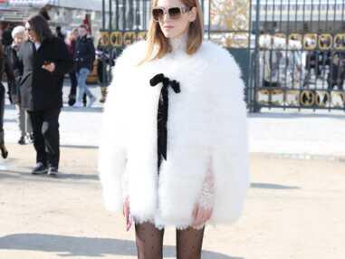 Fashion Week : Chiara Ferragni ultra tendance, Dianna Agron et Clotilde Courau chicissimes au défilé Elie Saab