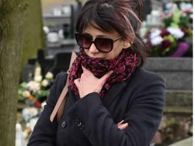 L'émotion de Sophie Marceau aux obsèques d'Andrzej Zulawski