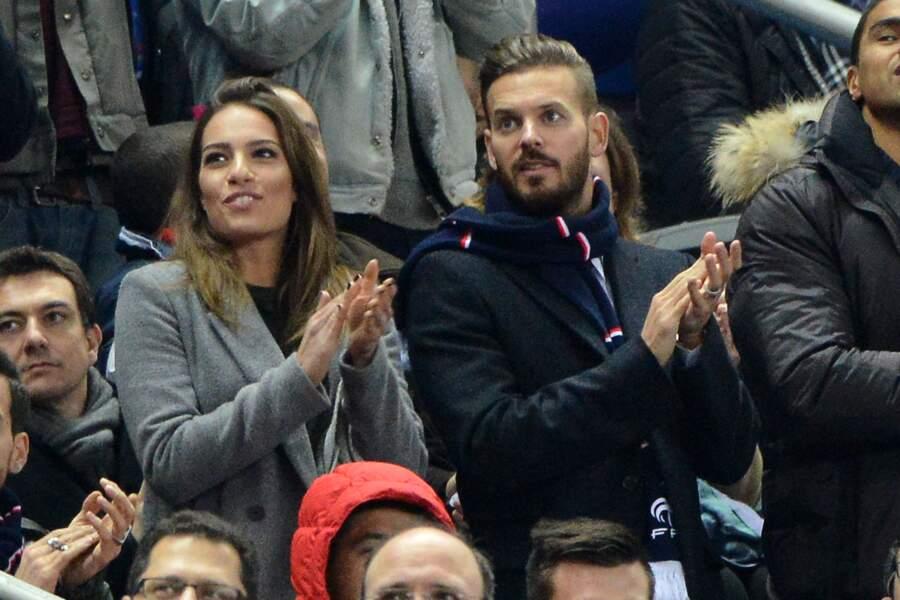 M Pokora et Scarlett étaient au match France/Brésil