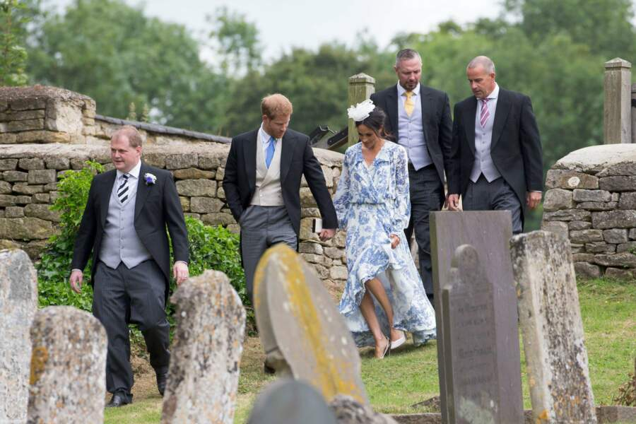 Mariage de Celia McCorquodale et George Woodhouse : le prince Harry et Meghan Markle