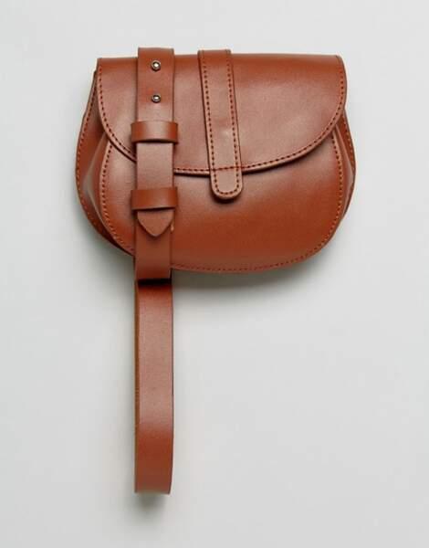 Le retour du sac banane : Sac ceinture, Reclaimed Vintage sur Asos, 21,49 euros