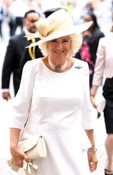Camilla Parker Bowles, au centenaire de la Royal Air Force, à Londres