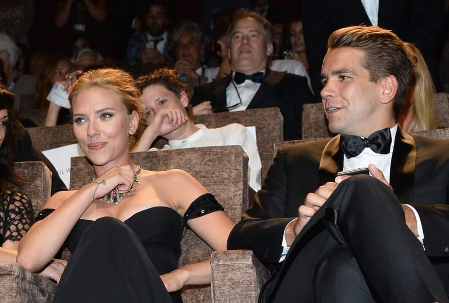 Septembre 2013 : Romain Dauriac et Scarlett Johansson se fiancent, après moins d'un an de relation