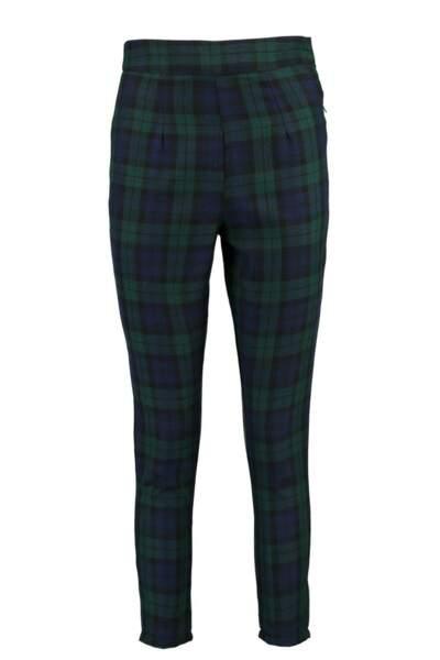 Pantalon fuselé taille haute, Boohoo, 20€