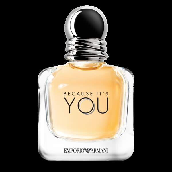 FIFI Awards 2018 : Because it's you, Emporio Armani - Famille fleurie, facettes fruitée et gourmande