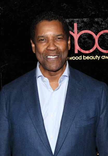 Denzel Washington aux Hollywood Beauty Awards