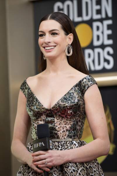 76ème cérémonie des Golden Globes : Anne Hathaway
