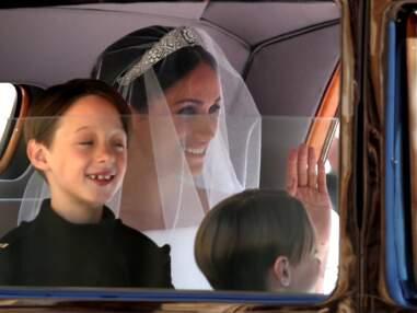 Mariage du prince Harry : l'arrivée de Meghan Markle à la chapelle St-George