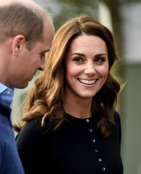 Kate Middleton a des étoiles dans les yeux