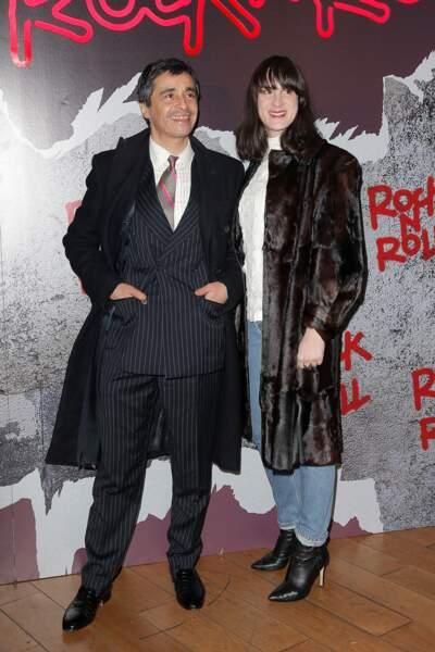 Avant-première de Rock'n Roll : Ariel Wizman et sa compagne Osnath