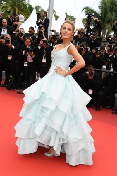 Blake Lively dans sa robe de princesse en 2016