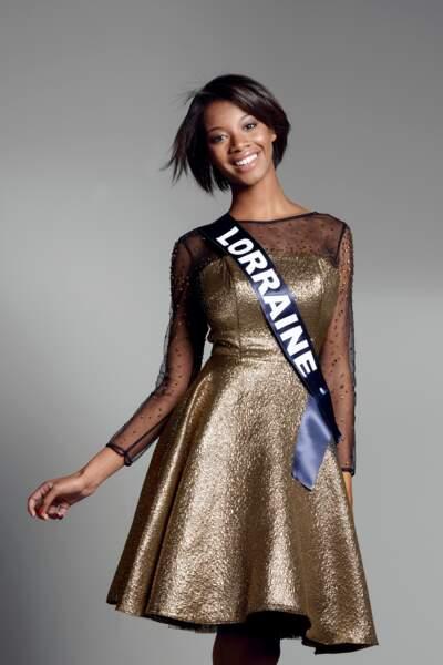 Miss Lorraine : Justine Kamara – 19 ans