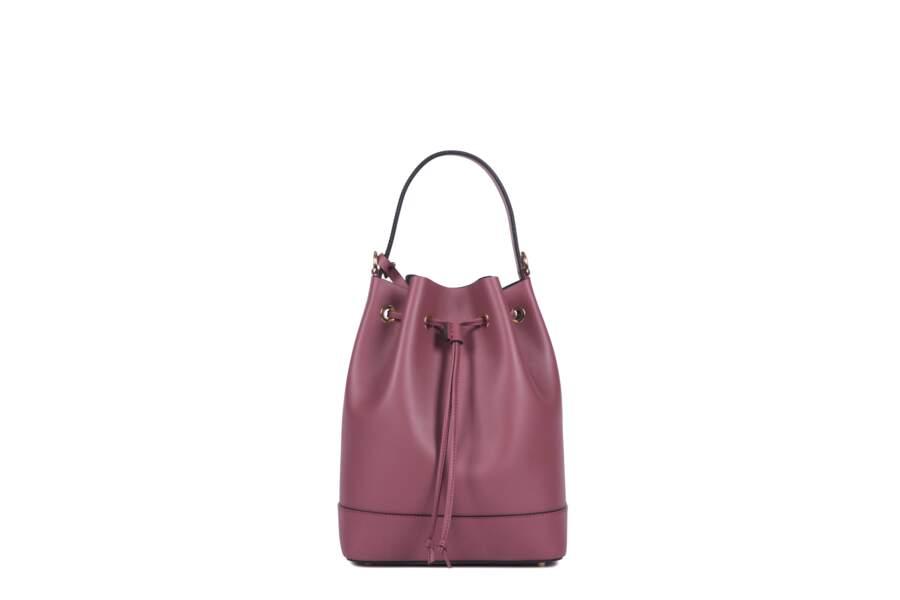 Léo et Violette : Le Petit Violette, cuir rose 290 euros